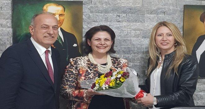 Erdayıoğlu İYİ Parti'yi Ziyaret Etti