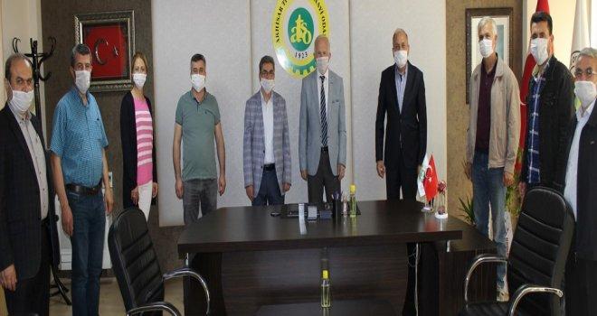 Erdayıoğlu'na Oda Başkanlarından Hayırlı Olsun Ziyareti