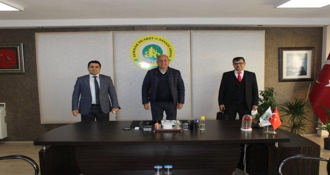 Erdayıoğlu'na Ticaret İl Müdürlüğü'nden Ziyaret