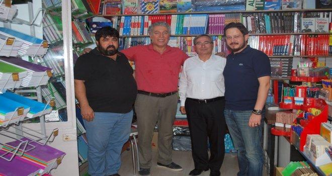 Erol Boşnak'tan Tahir Ün caddesi esnafına ziyaret