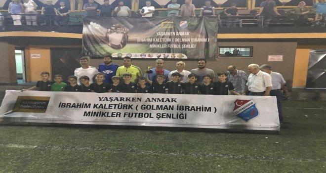 Golman İbrahim minikler futbol turnuvası sona erdi