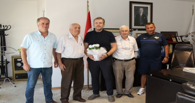 Golman İbrahim'den Akhisar Belediyesi'ne teşekkür