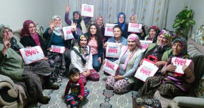 Güçlü Türkiye için AK Parti Akhisar'da çalınmadık kapı bırakmıyor