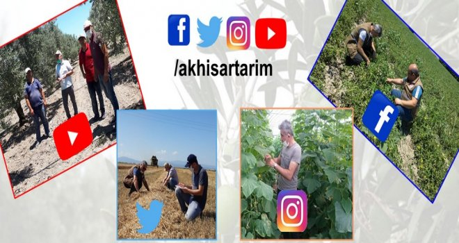 İlçe Tarım Müdürlüğü Sosyal Medya Aracılığıyla Da Üreticileri Bilgilendiriyor