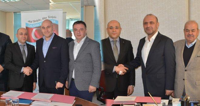 İŞKUR İl Müdürü Aktaş, Ticaret Borsası ve ATSO'yu Ziyaret Etti