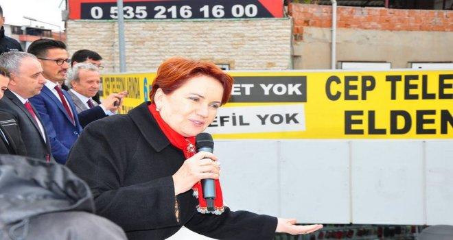 İYİ Parti Genel Başkanı Meral Akşener Akhisar'a Geldi