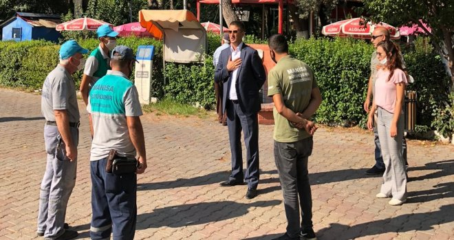 Kent Estetiği Dairesinden Akhisar'a Ziyaret