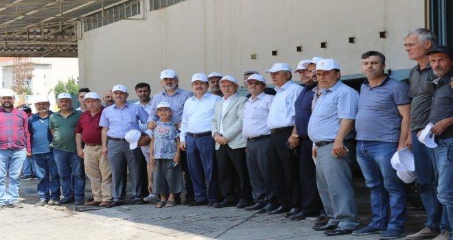 Manisa Milletvekili Uğur Aydemir, sanayi esnafı ile buluştu