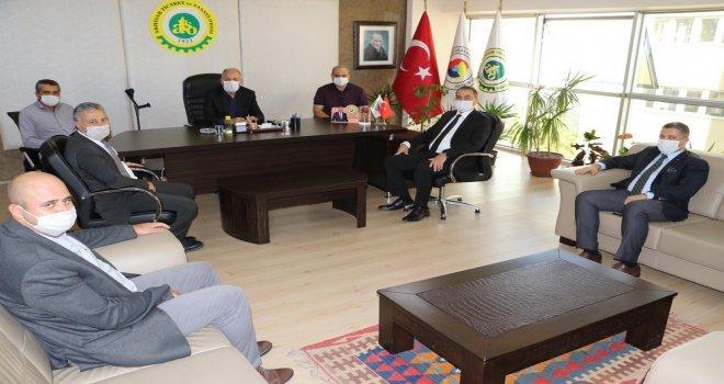 MASKİ Genel Müdürü ATSO'yu Ziyaret Etti