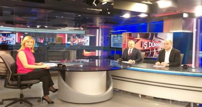 Mehmet Ulusoy Bloomberg Tv'nin Konuğu Oldu