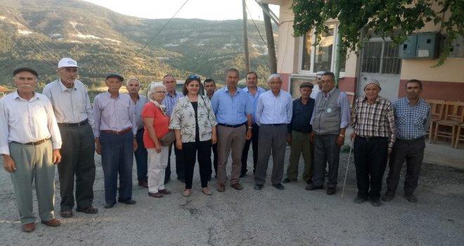 Milletvekili Adayı Aslı Öz 17 ilçesinde İYİ'lik Rüzgarı Estiriyor