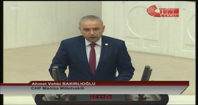 Milletvekili Bakırlıoğlu ''Bir Otomobil Firması, Tükiye'nin İki Katı AR-GE Harcaması Yapıyor''