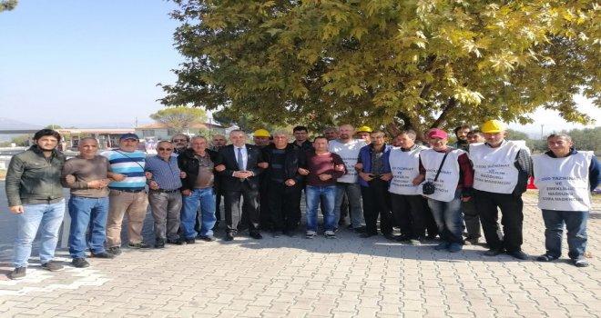 Milletvekili Bakırlıoğlu Direnişteki Madencileri Ziyaret Etti