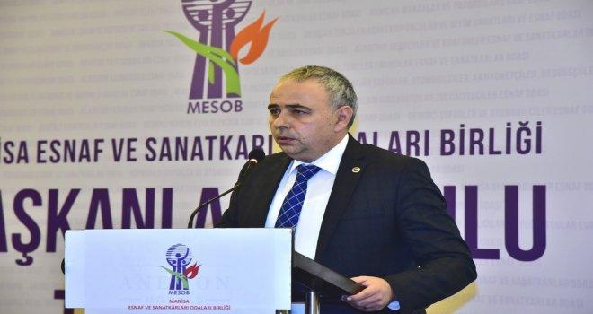 Milletvekili Bakırlıoğlu'ndan Esnaf ve Çiftçiler İçin Kanun Teklifi