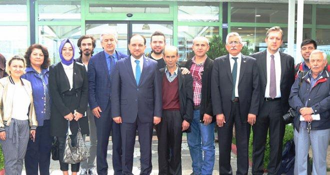 Milletvekili Murat Baybatur, Akhisarlı basın mensupları ile buluştu