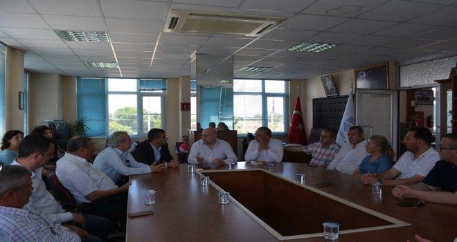 Özel ve Bakırlıoğlu'dan Akhisar Ticaret Borsasına Söz