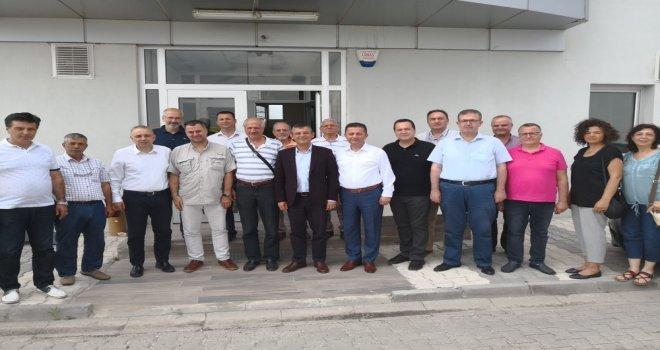 Özel ve Bakırlıoğlu'ndan Organize Sanayi Bölgesi ve TYH Fabrikasına Ziyaret