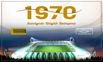 1970 saniyede stadyum turları başlıyor