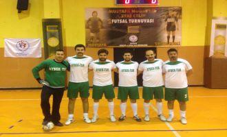 2. futsal turnuvasında iki takım yarı final biletini aldı