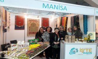 """2. Uluslararası İş'te Kadın Zirvesinde """"Zeytinyağım Akhisar'dan"""" damgası"""