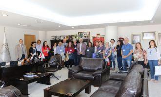 5 ülkeden gelen öğretmenler Akhisar'da buluştu