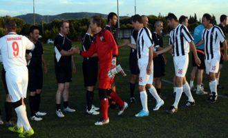 558. Çağlak Masterler futbol turnuvası başladı