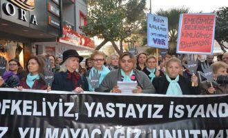 8 Mart Kadın Dayanışması Kadına Yönelik Şiddet için basın açıklaması yaptı