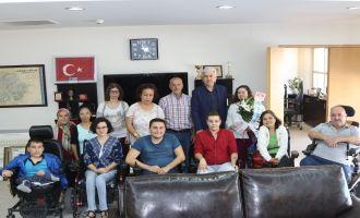 ABZED'ten Belediye Başkanı Salih Hızlı'ya teşekkür