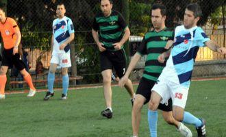 Adliyeler arası halı saha futbol turnuvasında 4.cü gün