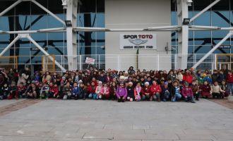 Ahmet Vehbi Bakırlıoğlu İlkokulu 4.sınıf öğrencileri şehrini keşfetti