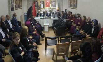 AK Parti Akhisar ilçe danışma meclis toplantısı yapıldı