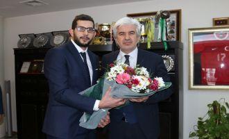 AK Parti Gençlik Kollarından, Belediye Başkanı Salih Hızlı'ya ziyaret