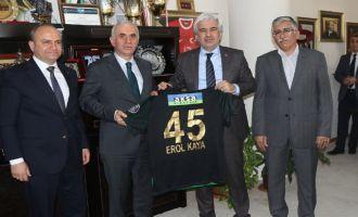 AK Parti Genel Başkan Yardımcısı Erol Kaya'dan Akhisar ziyareti