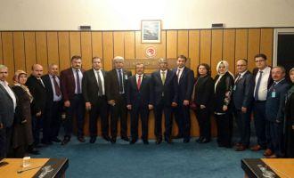 AK Parti ilçe teşkilatından KİT Komisyon Başkanı Aydemir'e ziyaret