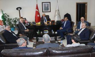AK Parti Milletvekili İsmail Bilen'den, Belediye Başkanı Salih Hızlı'ya ziyaret