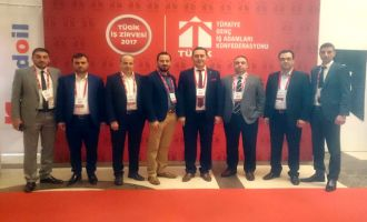 AKGİAD, 2017 TÜGİK İş Zirvesinde Akhisar'ı temsil etti