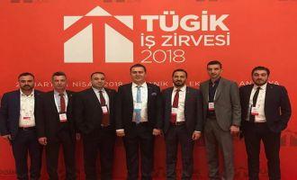 AKGİAD Yönetim Kurulu TÜGİK 2018 İş Zirvesinde