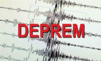 Akhisar 3.2 şiddetinde depremle sallandı