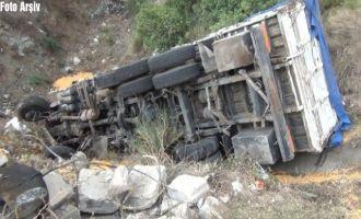 Akhisar-Balıkesir arasında kaza 1 kişi hayatını kaybetti