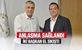 Akhisar Belediye Başkanı Besim Dutlulu, Akhisarspor'un geleceği için anlaşma sağlandı