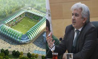 Akhisar Belediye Başkanı Salih Hızlı; yeni stadın bitim tarihini verdi