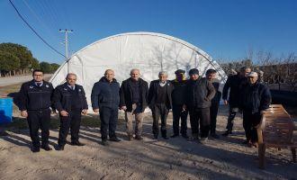 Akhisar Belediyesi 24 saat depremzedelerin yanında