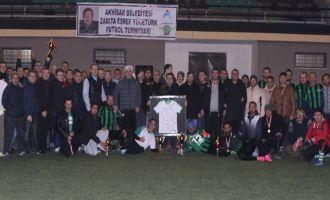 Akhisar Belediyesi Eşref Yücetürk turnuvası sona erdi