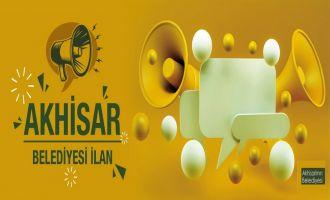 Akhisar Belediyesi ilanları için iki yeni hizmet
