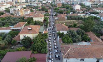 Akhisar Belediyesi mahalle iftarları Reşatbey Mahallesinde devam etti