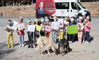 Akhisar Belediyesi Mahalle Kreşi Minikleri Can Dostları İle Buluştu