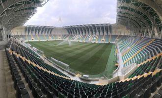 Akhisar Belediyesi yeni stadyumun kapılarını çok yakında ziyaretçilere açıyor