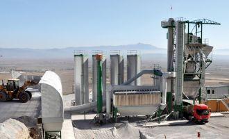 Akhisar Belediyesi'nden yeni asfalt tesisi