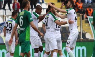 Akhisar Belediyespor; 5 - Bursaspor; 1