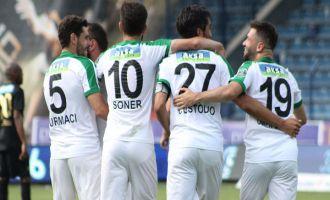Akhisar Belediyespor deplasmanda Osmanlıspor'u 4-0 yendi